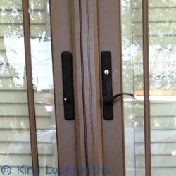 Patio Door Lock Rekey Friendly MD