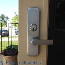 Storefront Door Lock Rekey Kensington MD