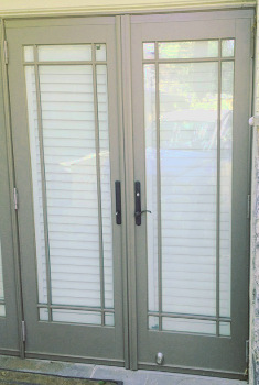 I Street NW French Door Installation in DC