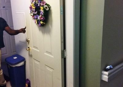 Apartment Door Replaced (3)