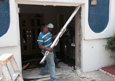 Commercial Double Steel Doors Replaced (11)