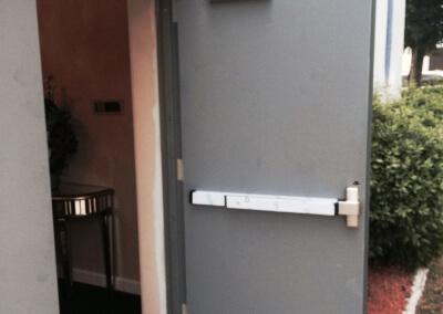 Commercial Double Steel Doors Replaced (14)