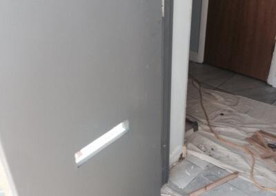 Commercial Double Steel Doors Replaced (16)