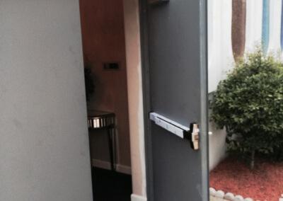 Commercial Double Steel Doors Replaced (18)