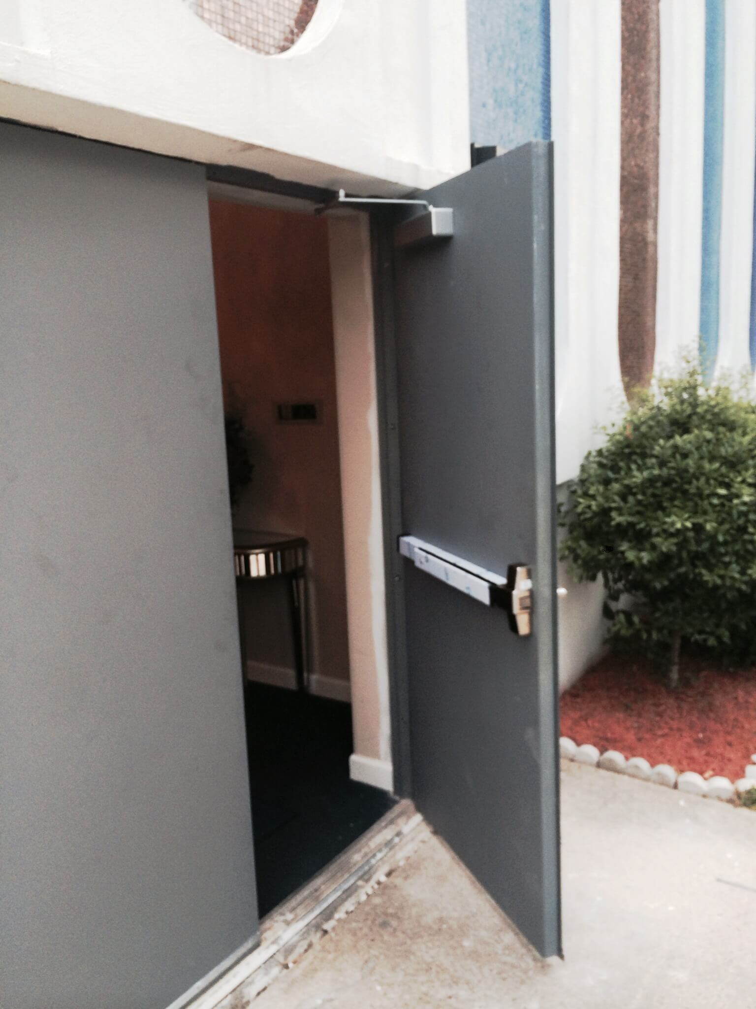 Double Steel Doors : Steel double door replacement king locksmith and doors