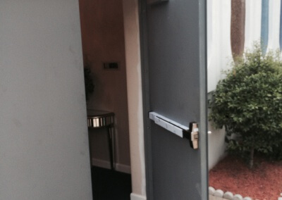 Commercial Double Steel Doors Replaced (3)