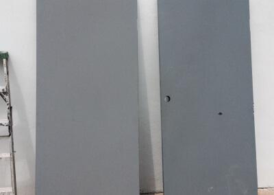 Commercial Double Steel Doors Replaced (8)