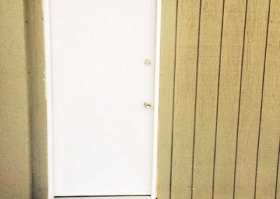 Commercial Garage Door and Steel Door Replaced (2)