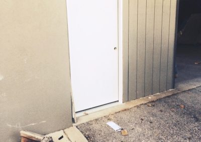 Commercial Garage Door and Steel Door Replaced