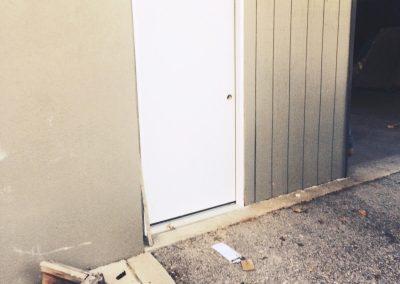 Commercial Garage Door and Steel Door Replaced
