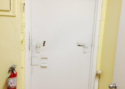 Commercial Security Steel Door Replacement (2)