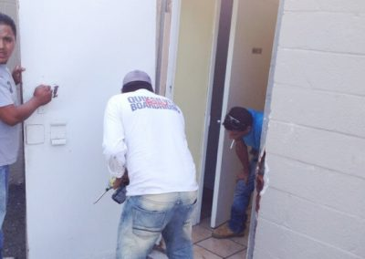 Commercial Security Steel Door Replacement (6)