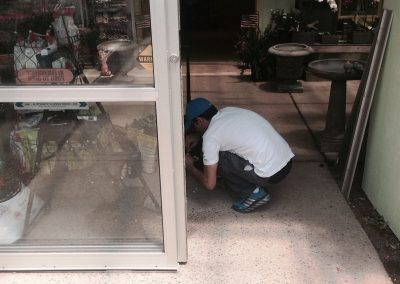 Commercial Sliding Glass Door Replaced (2)