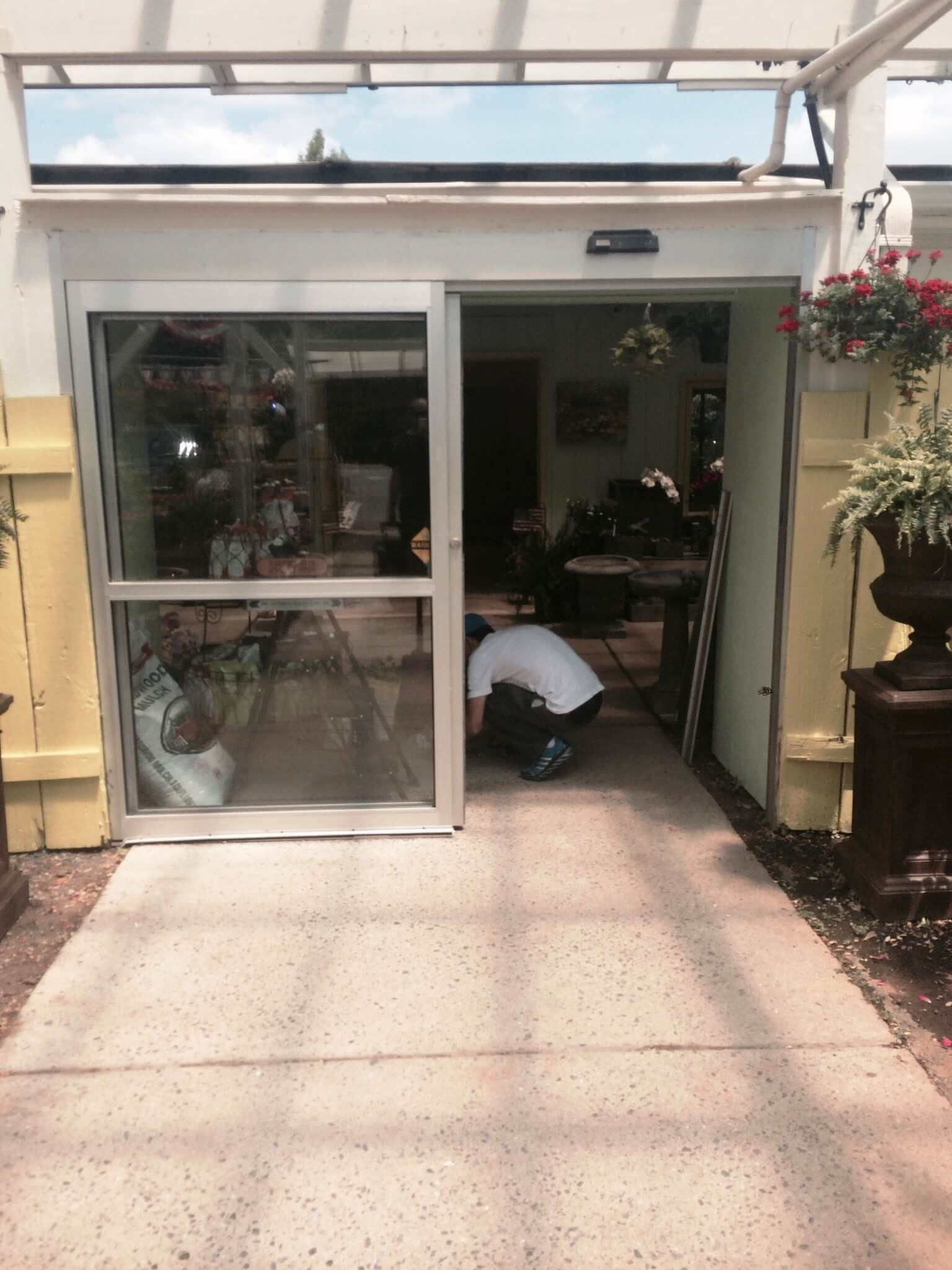 Commercial Sliding Glass Door Replaced (3)