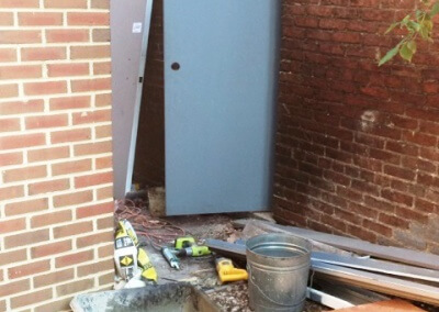 Commercial Steel Doors Installed (19)