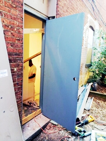 Commercial Steel Doors Installed (2)