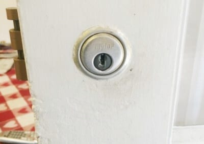 Cylinder Lock Replaced (1)