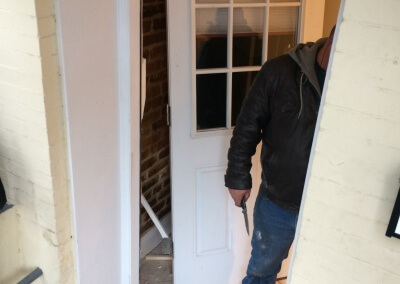 Damaged Front Door Replaced (2)