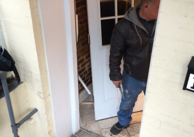 Damaged Front Door Replaced (3)