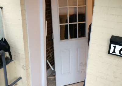 Damaged Front Door Replaced (4)