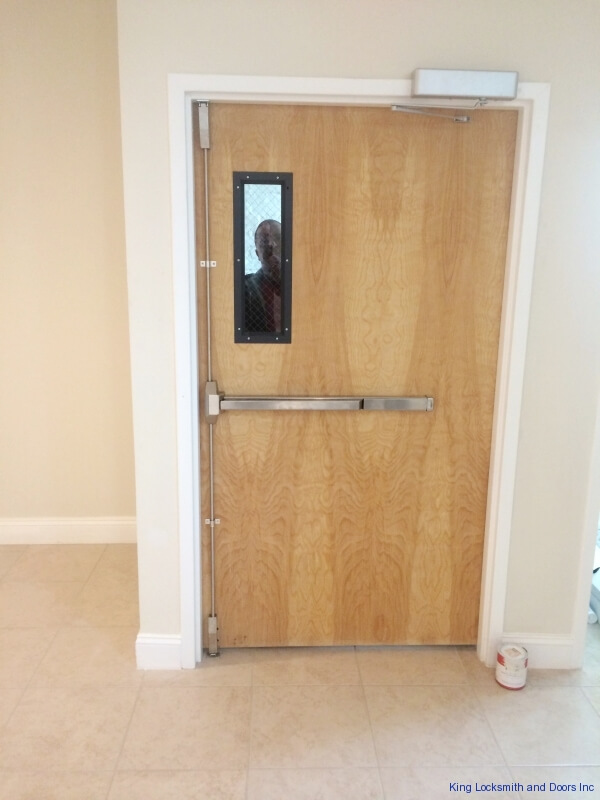 Commercial Door And Hardware Installation King Locksmith