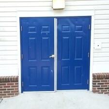Double-Door-Installation