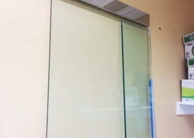 Glass Door with Magnetic Lock Replaced (2)