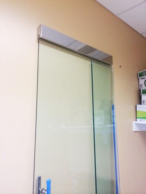 Glass Door with Magnetic Lock Replaced (2) & Glass Storefront Door with Magnetic Lock - King Locksmith and Doors ...