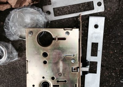 Mortise Lock Replaced (2)